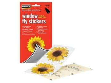 Window Fly Stickers (Pack 4)